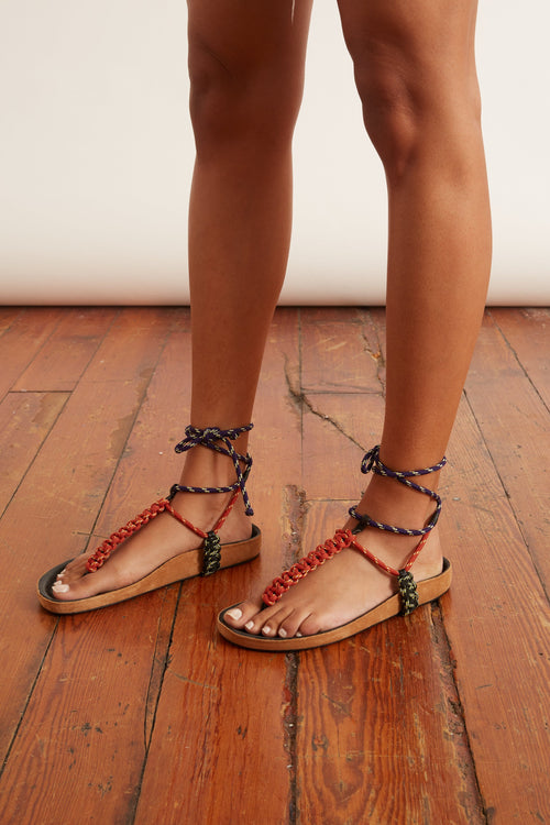 Loreco Sandal in Natural