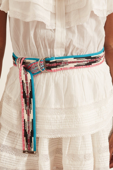 Balknit Belt in Ecru