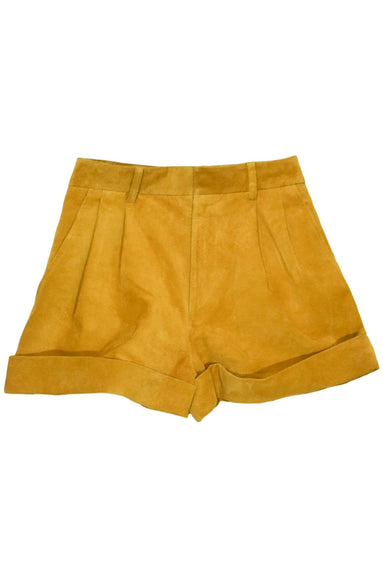 Abot Shorts in Amber Gold