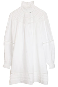 Adenia Dress in White