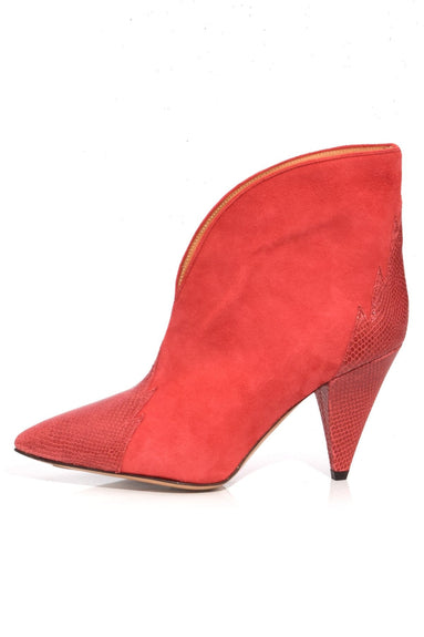 Archee Boot in Red