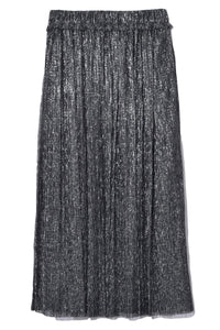 Beatrice Skirt in Gun Metal
