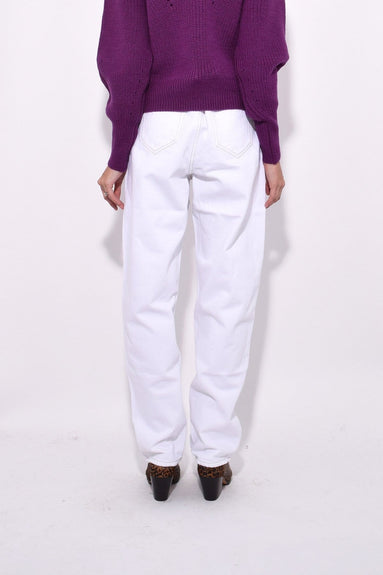 Corsy Jeans in White