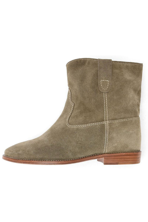 Crisi Boots in Taupe