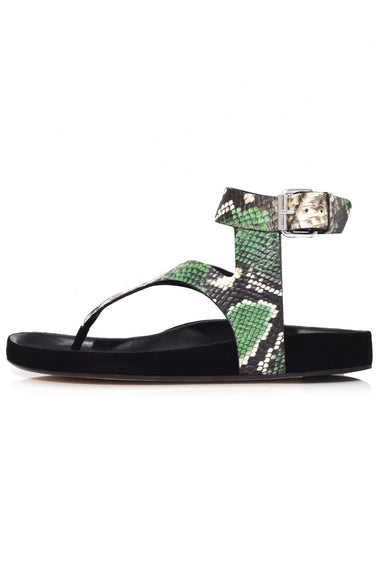 Elwina Sandal in Green