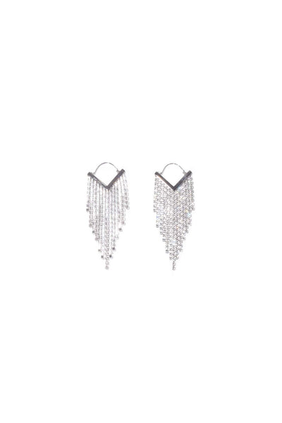 Cascade Earring in Transparent