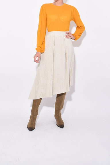 Freja Skirt in Ecru