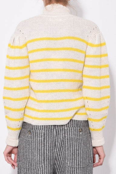 Georgia Sweater in Yellow