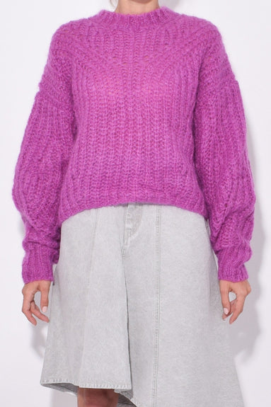 Inko Sweater in Fuchsia