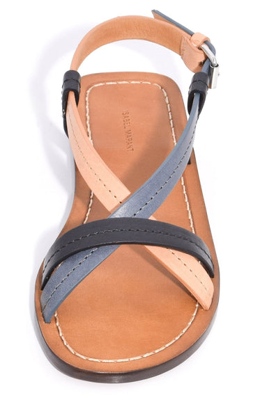 Jalmee Sandal in Black/Natural
