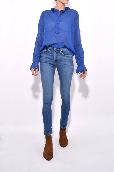 Louna Top in Blue