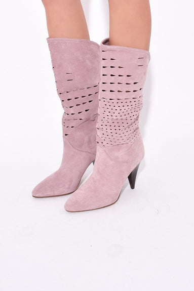 Lurrey Boot in Lilac