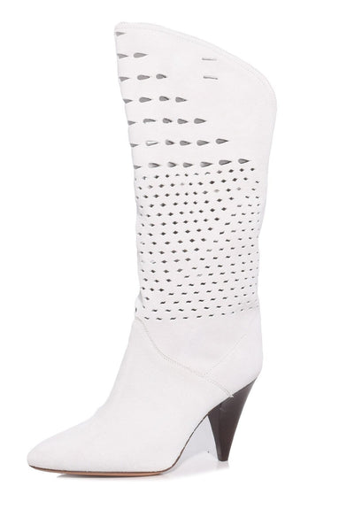 Lurrey Boot in White