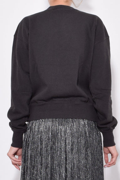 Moby Sweater in Faded Black