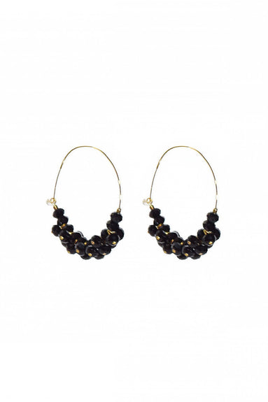 Polly Earring in Black