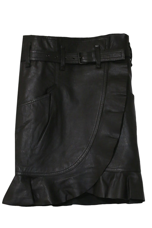 Qing Skirt in Black