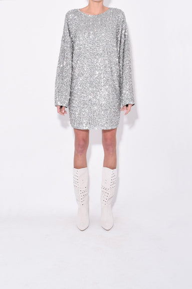 Xana Dress in Silver