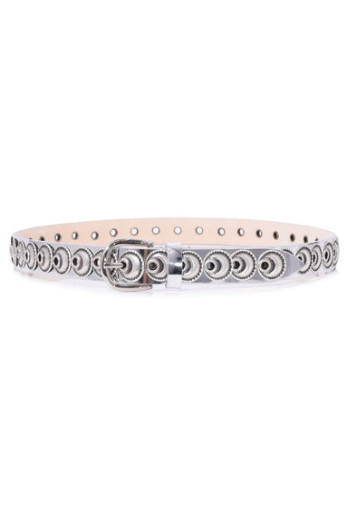Zappi Belt in Silver