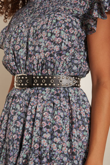 Rica Belt in Black