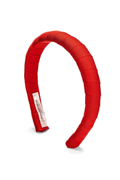 Grosgrain Attica Headband in Cherry
