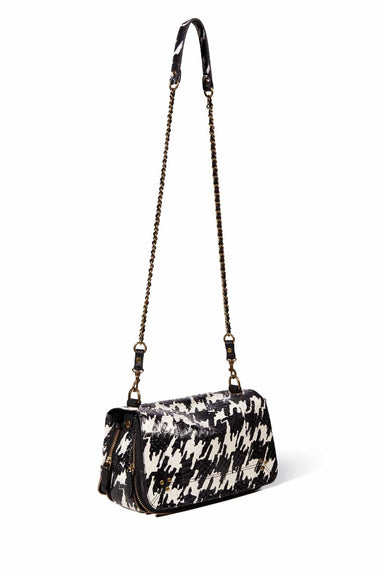Bobi Bag in Pied de Coq Snakeskin
