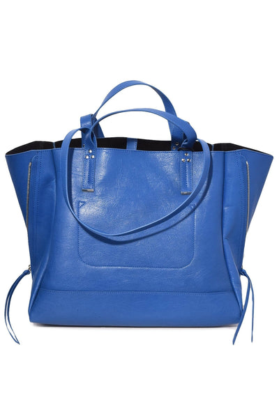 Georges Large Bag in Azur Goatskin