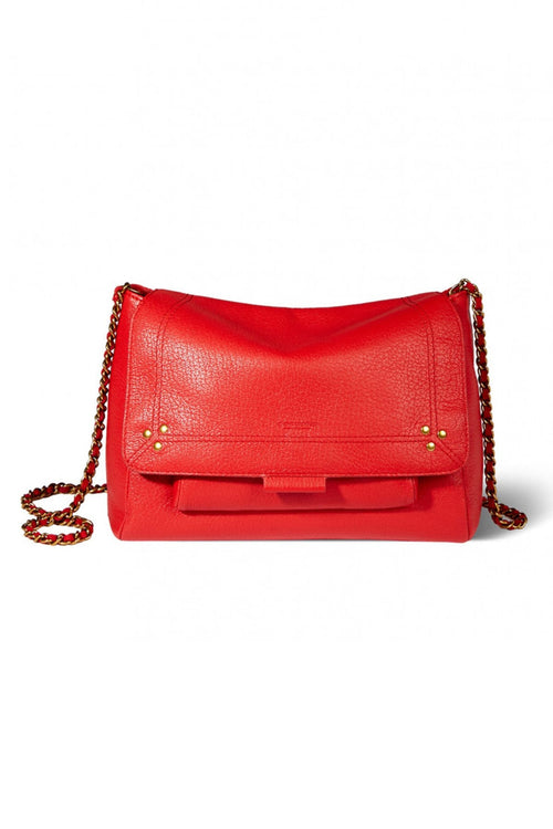 Lulu Medium Bag in Rouge Goatskin
