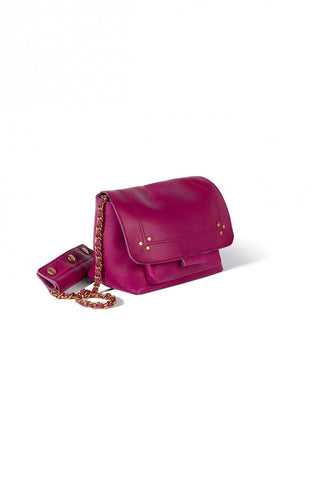 Lulu Small Bag in Bougainvilliers Lambskin