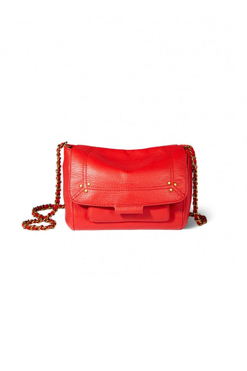Lulu Small Bag in Rouge Goatskin