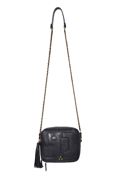 Pascal Bag in Froisse Noir Lambskin