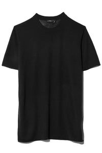Cashair Short Sleeve Tee in Black