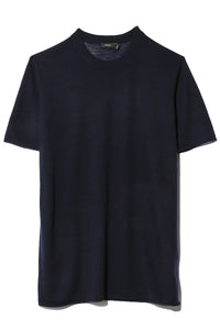 Cashair Short Sleeve Tee in Navy