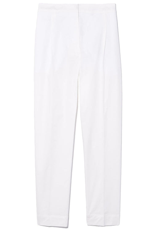 Duran Cropped Pant in Off White