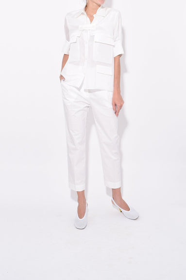 Lesley Shirt in White