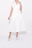Logan Dress in Off White