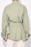 Warrick Short Jacket in Sage