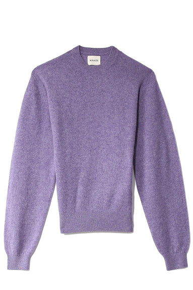 Viola Crewneck Sweater in Amethyst