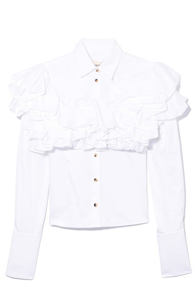 Virginia Runway Top in White