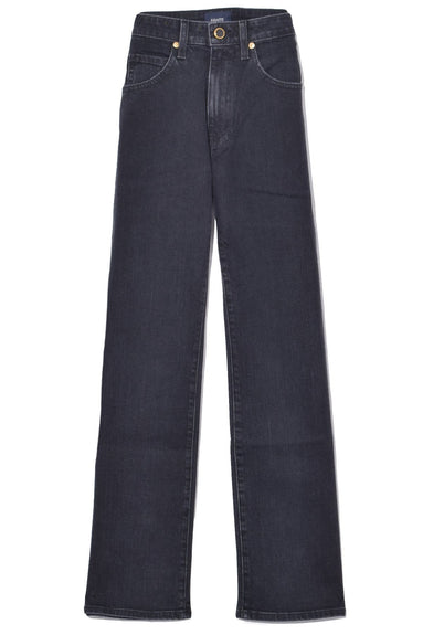 Vivian Bootcut Flare Jeans in Stone Black