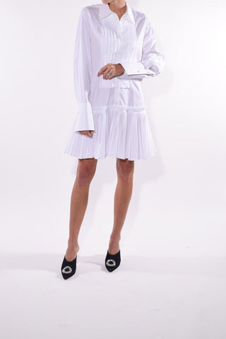 Malin Dress in White