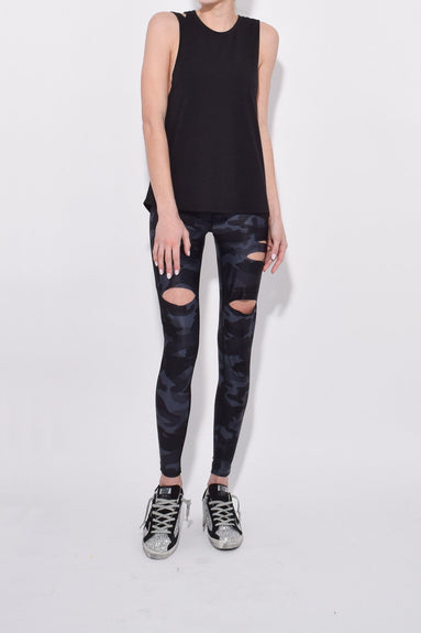 KB Collection Muscle Tee in Black