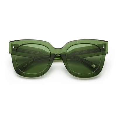 #008 Clear Sunglasses in Kiwi