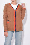 The Leon Cardigan in Camel