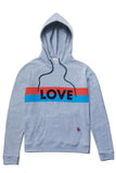 The Love Hoodie in Heather Grey