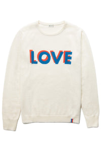 The Love Sweater in Cream