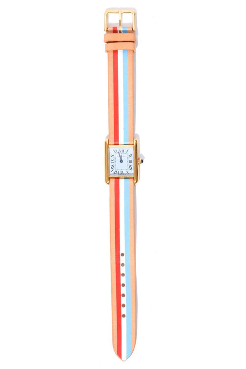 Vintage Watch in Pastel Bleu/Liberty