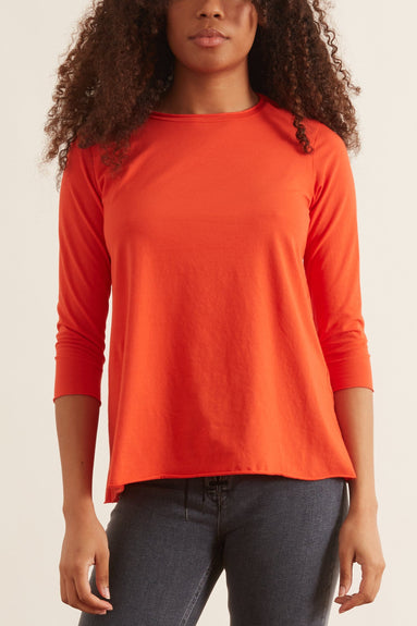 Jeppe Jersey Top in Cayenne