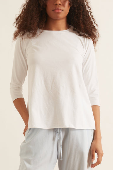 Jeppe Jersey Top in White