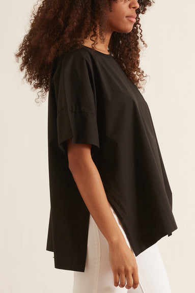 Max Jersey Top in Black