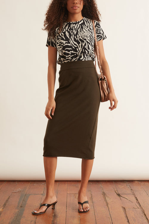 Penna Charme Skirt in Bronze